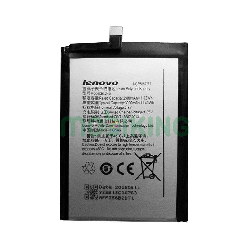 Оригинальная батарея Lenovo Z90/Vibe Shot (BL-246) для мобильного телефона, аккумулятор для смартфона.