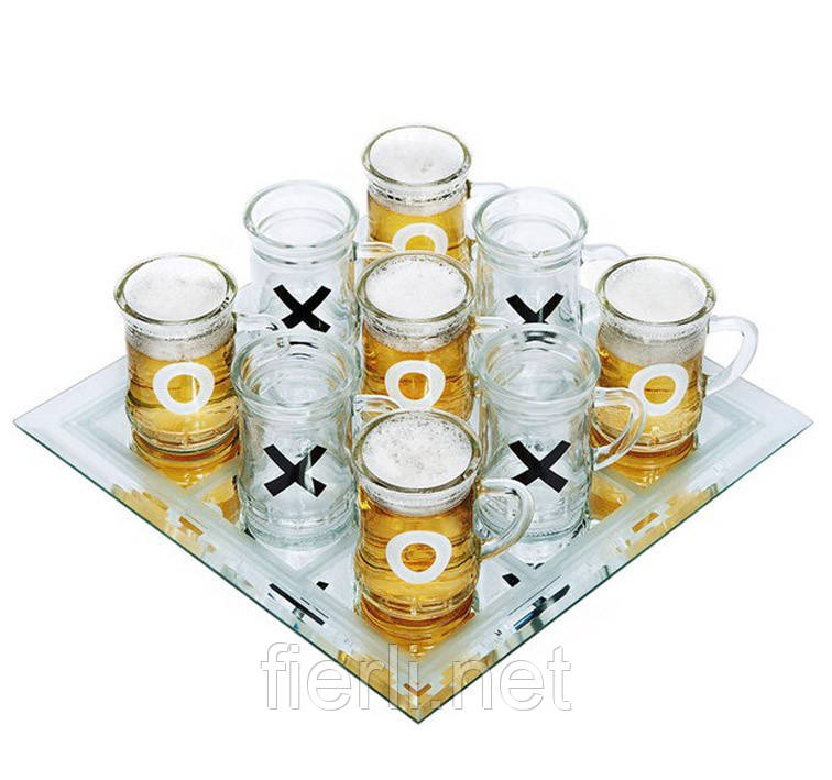 Алко игра крестики нолики (30х30см) №084
