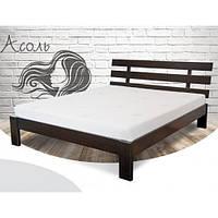 Кровать Ассоль 160х190 бук, цвет натуральное дерево