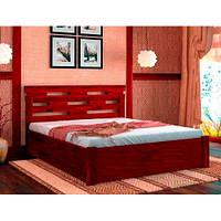 Кровать с подъемным механизмом Зевс 180х190 бук, цвет натуральное дерево
