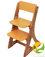Детский стул растишка Mobler Оранжевый