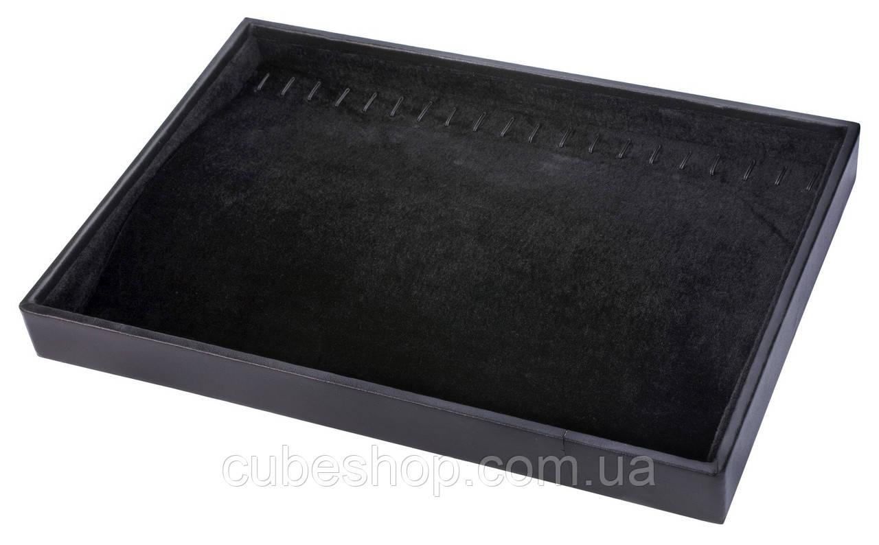 Планшет для браслетов черный бархатный [35/25/3 см]