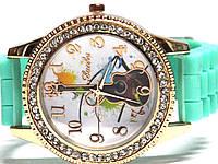 Часы на резиновом ремешке 00467