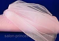 Фатин свадебный (розовый)