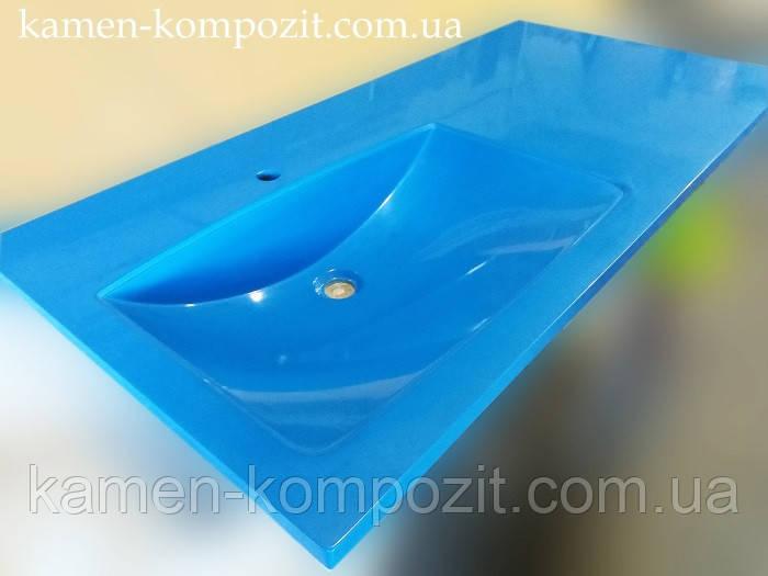 Столешница в ванную под заказ - Камень-Композит в Запорожье