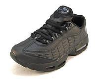 Кроссовки Nike Air Max 95 черные унисекс ( р.36,37,38)