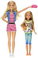 "Кукла Барби и Стейси серии ""Барби и ее сестры"" (Barbie Sisters Barbie & Stacie Dolls, 2 Pack)"