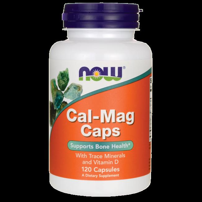 Кальций и Магний, Cal-Mag, Now Foods, 120 капсул