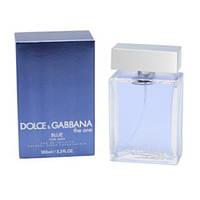 Мужская туалетная вода Dolce&Gabbana The One blue (свежесть цитрусовых со специями и древесными нотами)