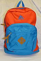 Рюкзак 25 л Onepolar 2158 оранжево-голубой