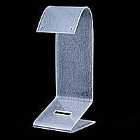 Подставка для серёг пластиковая матовая, h=11,5 см