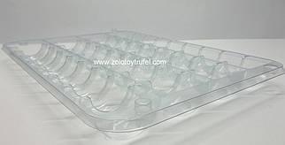 """Пластиковая упаковка для макаронс """" На 36 ячейки открытая"""""""