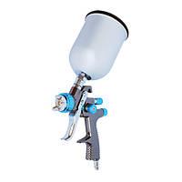 Краскораспылитель профессиональный  LVLP BLUE NEW1.4мм,intertool,pt-0133