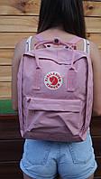 Розовый рюкзак Fjallraven Kanken Classic Bag | Оригинальная бирка, фото 1