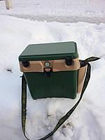 Ящик для зимней рыбалки с термометром ,качественный пластик
