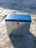 Ящик зимний оцинкованный большой с окошком