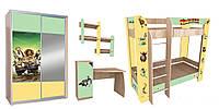 Комплект детской мебели «Мадагаскар»