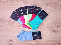 Носки женские спорт Tommy Hilfiger цветные сетка Турция (до косточки) опт