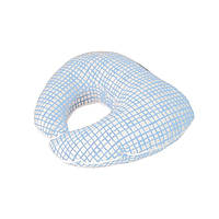 Подушка под голову Голубая клетка Прованс#AndreTan