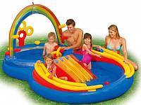 Детский водный игровой комплекс Радуга Intex