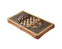 Набор игр 2 в 1 Шахматы и Нарды. Бамбук