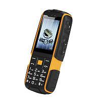 """Ударопрочный телефон NO.1 A9 orange оранжевый IP67 (2SIM) 2,4"""" 3 Мп оригинал Гарантия!"""