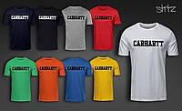 Летняя мужская футболка Carhartt, футболка кархарт