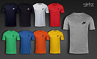 Стильная летняя мужская футболка Nike, футболка Найк