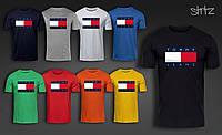 Футболка мужская Томми Хильфигер , футболка Tommy Hilfiger