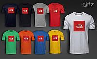 Молодежная футболка The North Face, футболка ТНФ