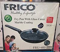 Сковорода FRICO FRU-055 28 см (мрамор)