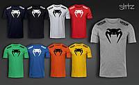 Спортивная мужская футболка Венум, футболка Venum