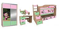 Комплект детской мебели «Маша и Медведь»