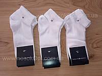 Носки женские спорт Tommy Hilfiger белые Турция (сетка) опт