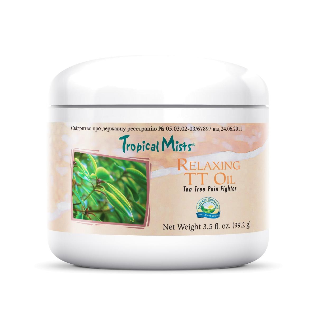 Обезболивающий крем «Релакс с маслом чайного дерева» лучшая мазь от боли и лечения  суставов.,