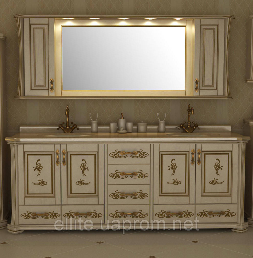 """Тумба и зеркало  """"Троя"""" 200"""