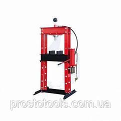 Пресс гидравлический 30 т напольный с вертикальным насосом и пневмоприводом Profline 97380
