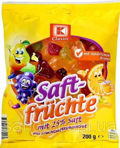 Желейные конфеты Сочные Фрукты  K-Classic 200гр. (Германия), фото 2
