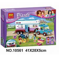 Конструктор Bela Friends 10561 Ветеринарная машина для лошадок, 379 детали