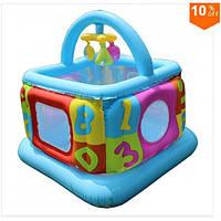 Надувной детский игровой центр манеж - батут