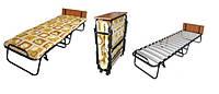 Раскладная кровать на ламелях Витязь с подголовником, 130 кг  ,197х72 см