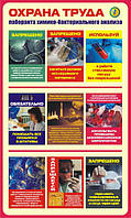 Стенд Охрана труда в лабораториях, пластик