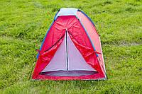 Палатка туристическая  двухместная  для отдыха  на природе,однослойная ,полиуретановая пропитка