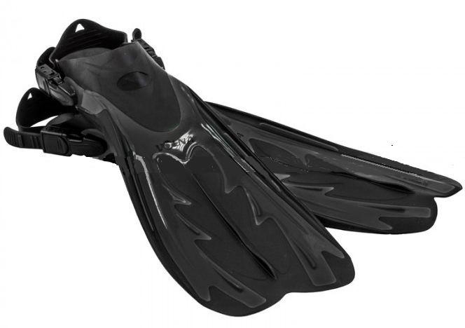 Ласти з відкритою п'яткою Volna AI-PETRI PRO 5168-00 44/7(L/XL) чорний