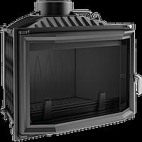 Каминная топка kratki wiktor призматическая- 14 кВт чугунная