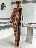 Женское длинное платье свободного кроя