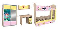 Комплект детской мебели «Русалочка»