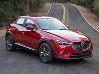 Силовые обвесы Mazda CX-3, кенгурятники и пороги