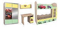 Комплект детской мебели «Тачки»
