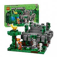"""Конструктор Bela 10623 """"Храм в джунглях"""" Minecraft (аналог LEGO 21132), 604 дет."""